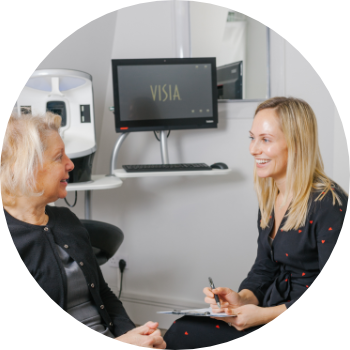 a patient discussing skin treatments with an aesthetic doctor at Waterhouse Young