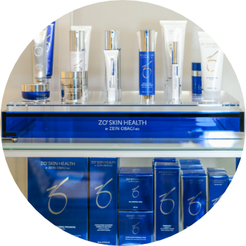 a selection of skincare products used at the Waterhouse Young skin clinic in London