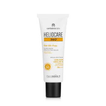 Heliocare Gel Oil Free spf50 skincare product